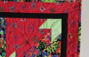 Offset Dead End Borders Quilt by Joyce Blowers