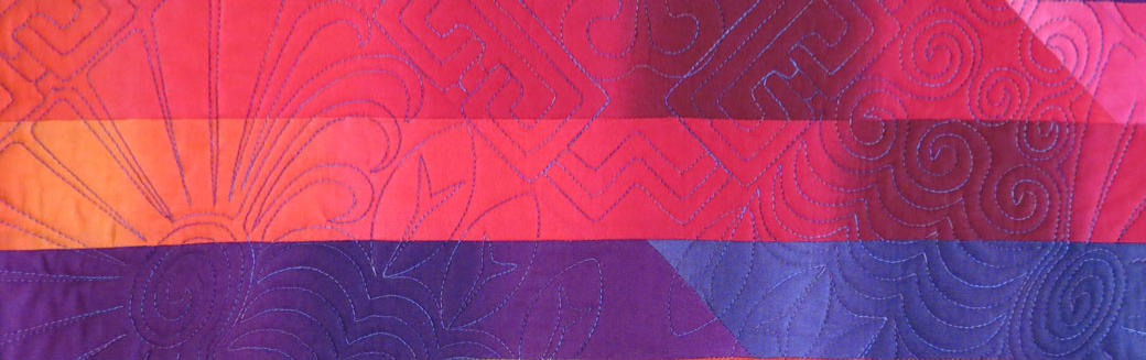 quilted with quiltmagine from Nolting quilt sample Delightful Quilting & Sewing Avon NY