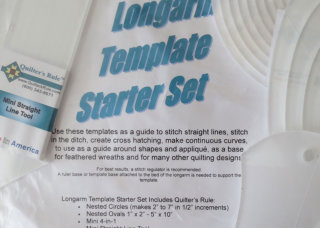 longarm template starter set available from Delightful Quilting & Sewing Avon NY