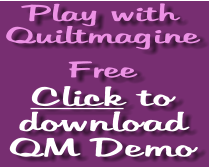 link to free demo download of Quiltmagine computer guided from Nolting longarm