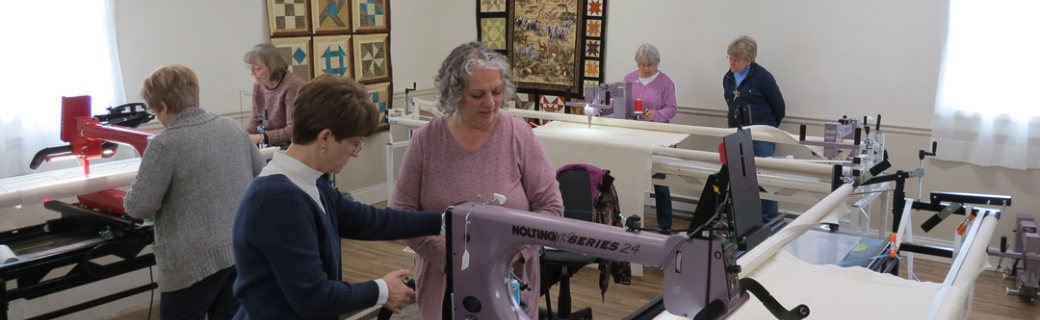 longarm studio at Delightful Quilting & Sewing Avon NY