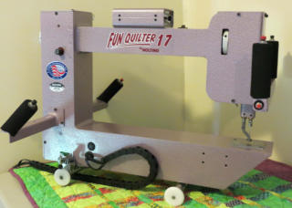 Nolting Hobby Quilter midarm quilting machine Delightful Quilting & Sewing Avon NY