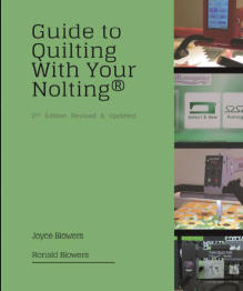 guide to quilting with your nolting, book by joyce and ronald blowers